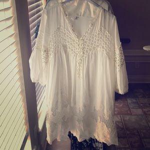 Dresses & Skirts - Lace & eyelet dress